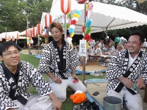 船戸町会祭り