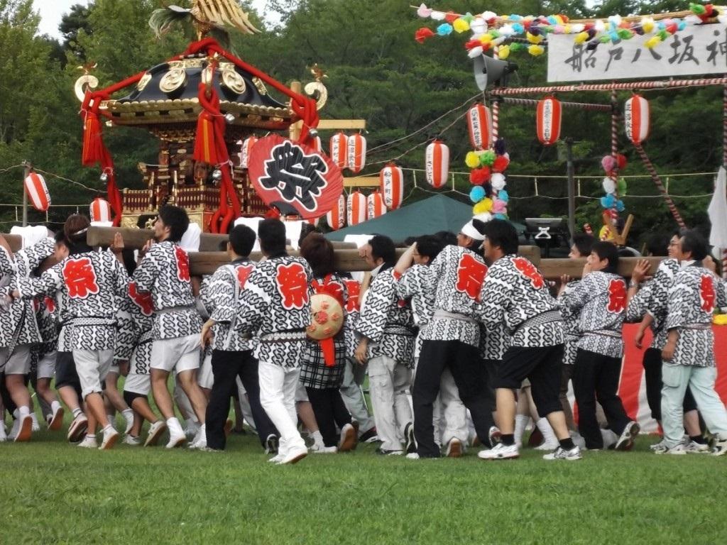 船戸町会祭り神輿