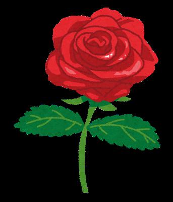 いらすとや 薔薇